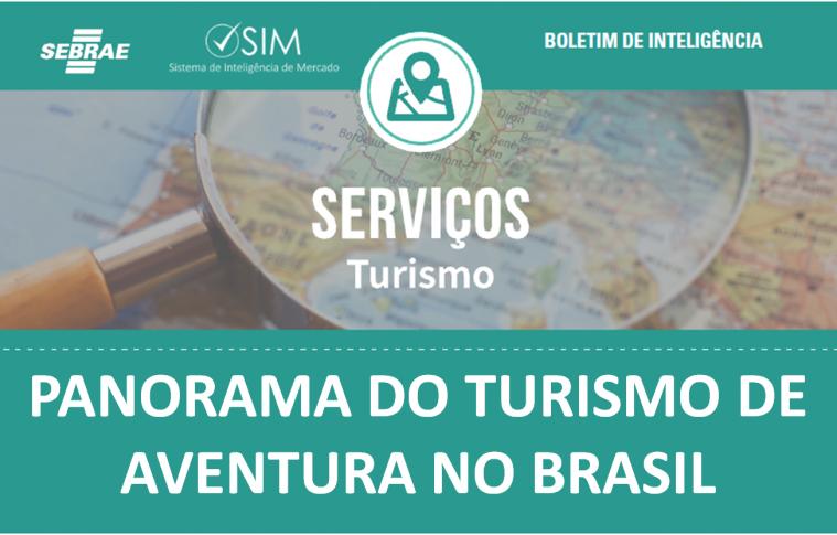 Boletim – Panorama do Turismo de Aventura no Brasil