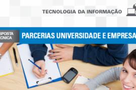 Boletim – Parcerias Universidade e Empresa