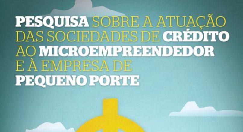 Pesquisa Sociedades de credito ao microempreendedor – Sebrae 2013