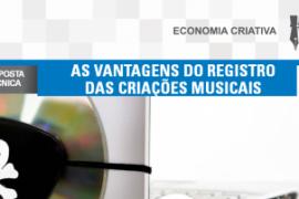 Boletim – As vantagens do registro das criações musicais