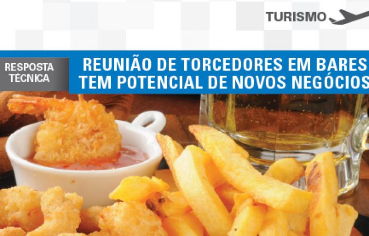Boletim- Reunião de Torcedores em bares tem potencial de novos negócios.