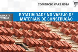 Boletim- Rotatividade no Varejo de Materiais de Construção