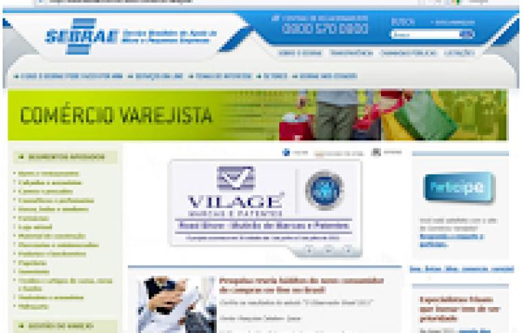 Pesquisa avalia site do Comércio Varejista