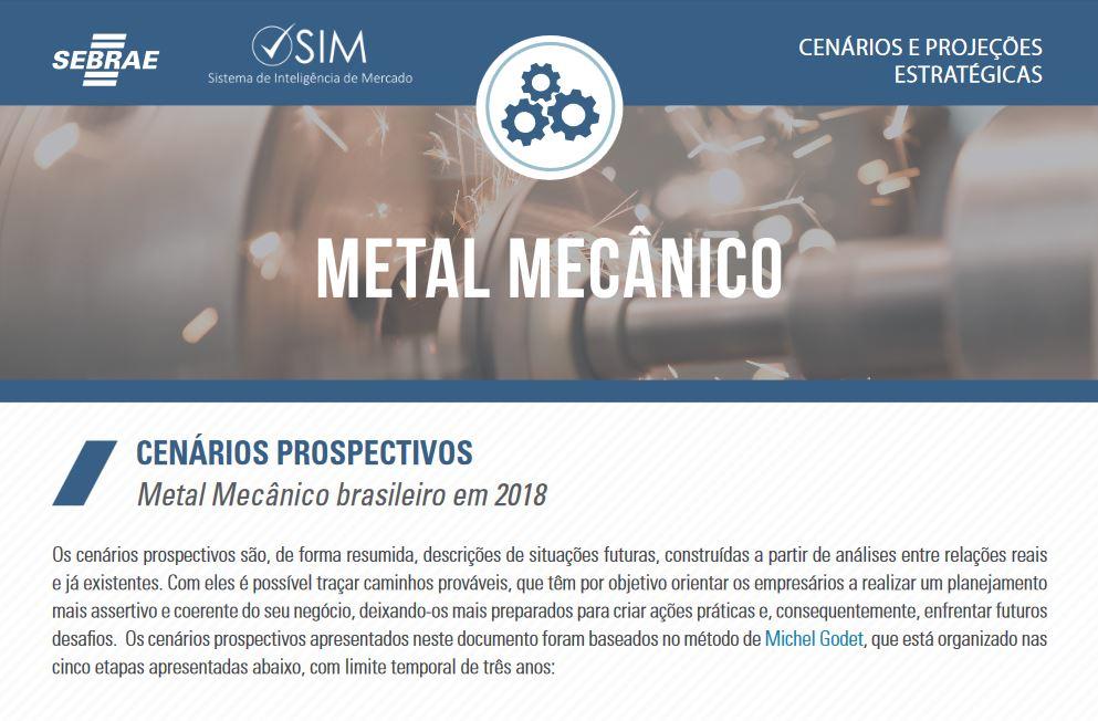 CENARIO DE METAL MECÂNICO 2018
