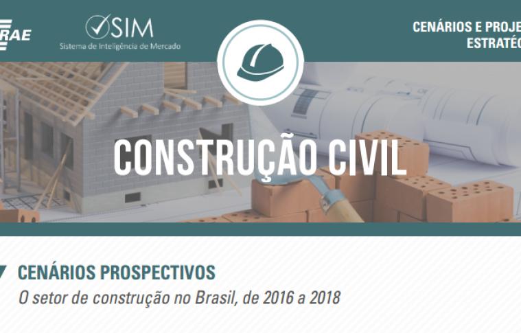 Cenários do setor de construção civil no Brasil em 2018