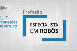 Especialista em Robôs – O que faz?