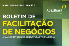 ESTUDOS DA APEX SÃO FONTES DE INTELIGÊNCIA DE MERCADO INTERNACIONAL