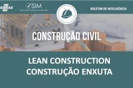 [Boletim de Inteligência] – Construção – Lean construction – Construção enxuta