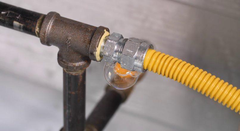 Como identificar um vazamento de gás?