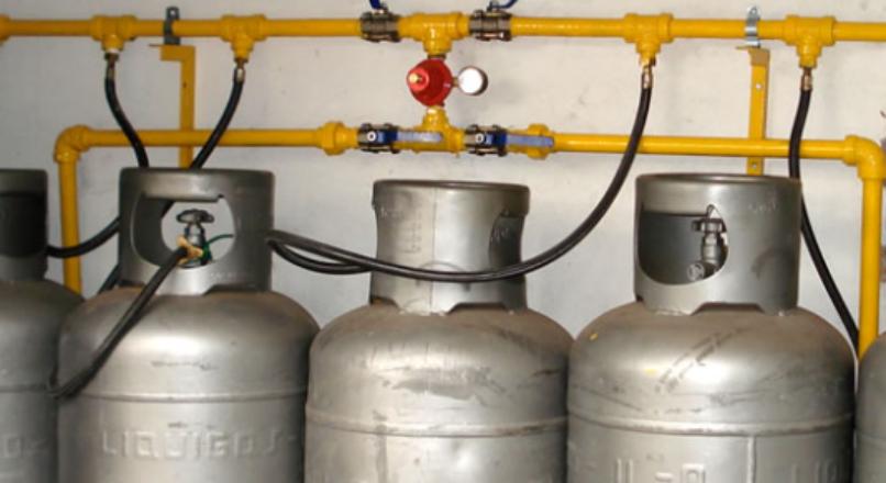 Como funciona cilindro de gás GLP?