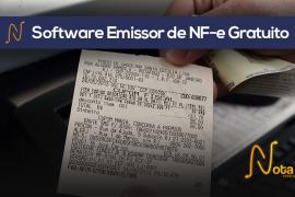 Software Emissor de Nota Fiscal Eletrônica Gratuito