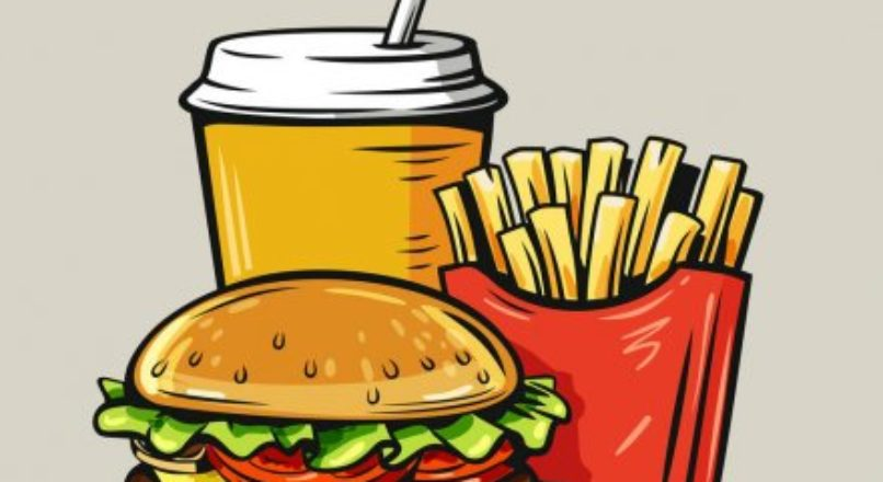 O aumento do consumo de fast food
