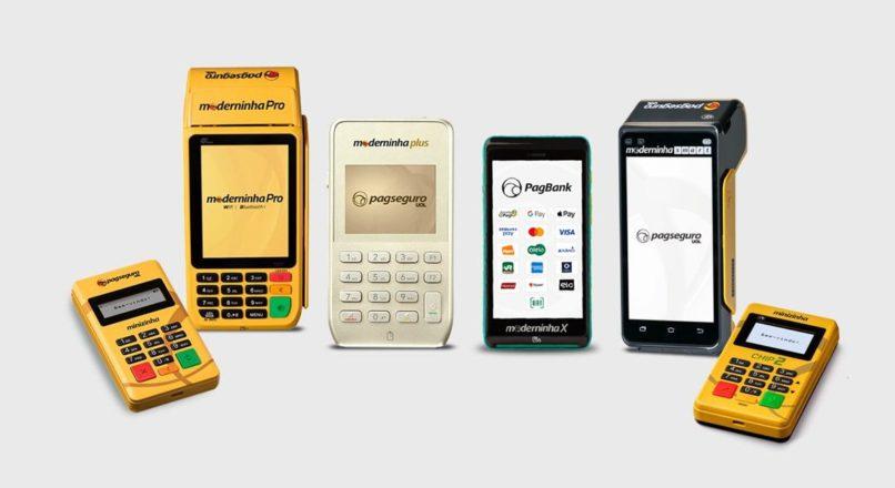 Comprar Maquininha PagSeguro: Minizinha, Minizinha Chip, Moderninha Plus, X, Pro ou Smart.