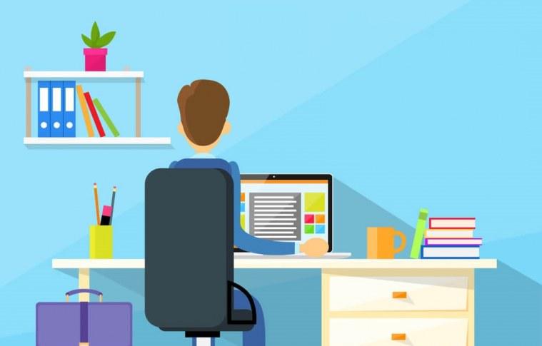 Dicas para manter a saúde física e mental trabalhando em home office