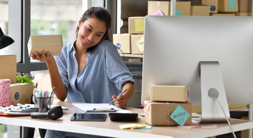 Como tirar a loja virtual do papel?
