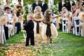 Ideias para envolver crianças na cerimônia de casamento