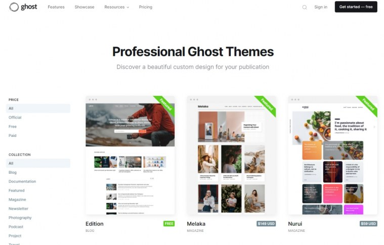 Conheça o Ghost, uma plataforma open source para criar blogs e sites para sua empresa