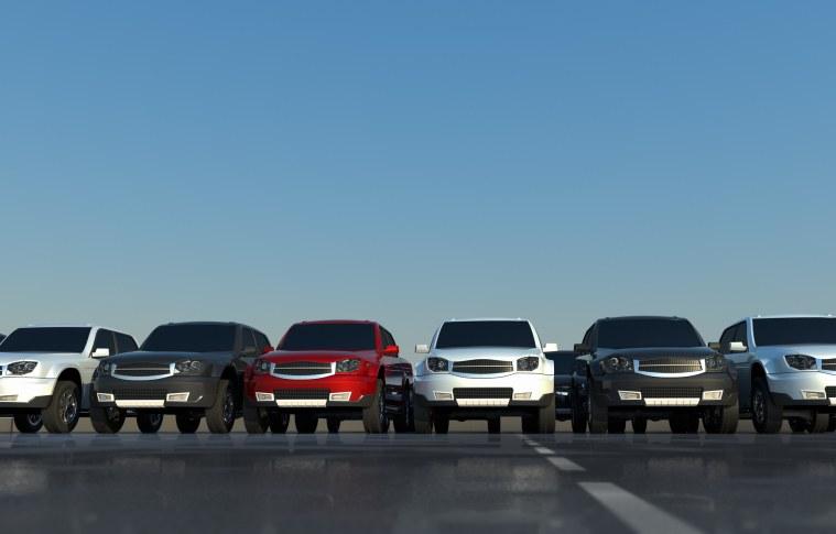 Setor de aluguel de carros quebra recorde com mais de um milhão de veículos na frota