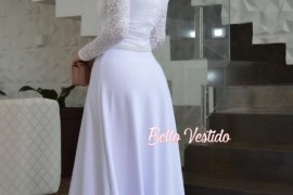 Vestido de noiva simples- 5 Tendências elegantes e românticas para 2021