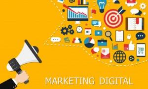 Como é usado o marketing digital na industrial