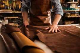 Qual é o cenário do mercado de couro no Brasil?