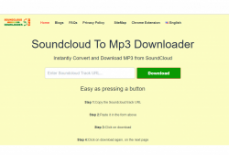 Soundcloud To Mp3 – conversor e downloader de músicas
