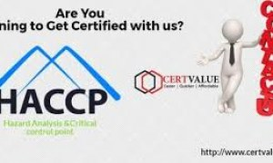 HACCP Certification for Food Safety